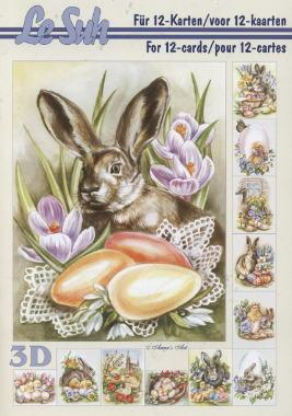 3D Bogen / Ostern,  Ostern - Ostereier,  Le Suh,  3D Bogen,  Ostereier,  Osterhasen