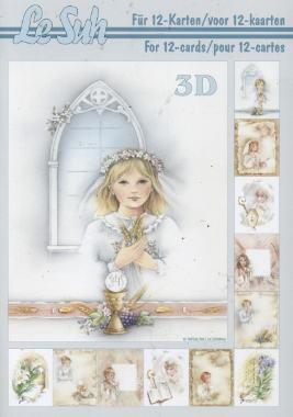 3D Bogen / Bücher,  Ereignisse - Kommunion,  Le Suh,  3D Bogen,  Kommunionn,  Konfirmation