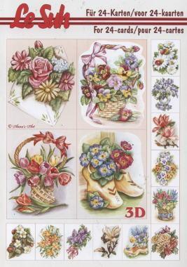 3D Bogen Buch Mini-Blumen - Format A5,  Blumen -  Sonstige,  Le Suh,  3D Bogen,  Blumen