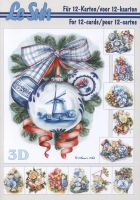 3D Bogen Buch Format A5,  Blumen,  3D Bogen,  Blumen,  Kugeln