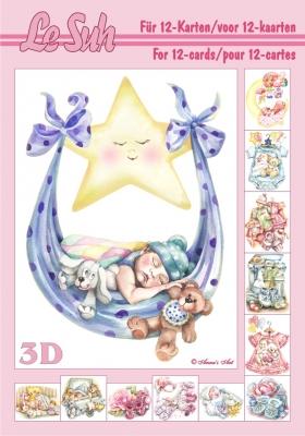 3D Bogen / Le Suh,  Ereignisse - Geburt,  Le Suh,  3D Bogen,  Geburt,  Baby