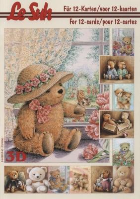 3D Bogen Buch Bären - Format A5,  Le Suh,  3D Bogen,  Bären
