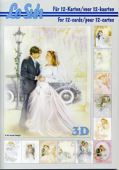 3D Bogen Buch Hochzeit - Format A5,  Ereignisse - Hochzeit,  Le Suh,  3D Bogen,  Hochzeit