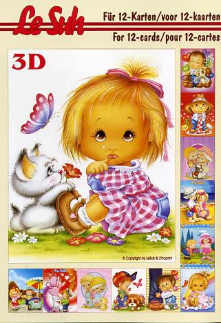 3D Bogen Buch Kinder - Format A5,  Ereignisse - Geburtstag,  Le Suh,  3D Bogen,  Kinder