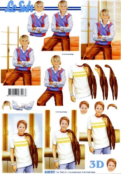 3D Bogen  - Format A4,  Sonstiges -  Sonstiges,  Le Suh,  3D Bogen,  Teenager Jungs