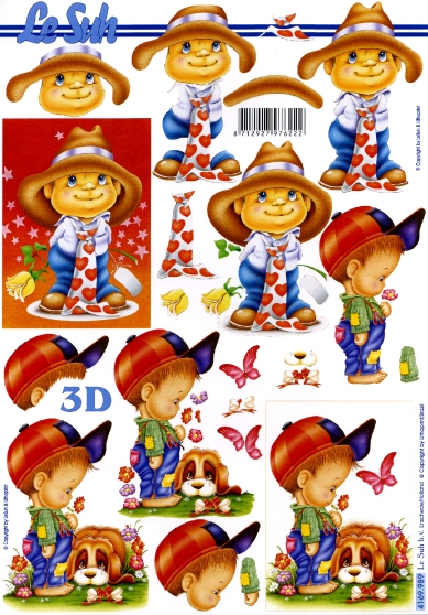 3D Bogen Format A4