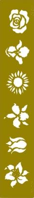 Le Suh b.v.,  Prägungsschablonen,  Blumen