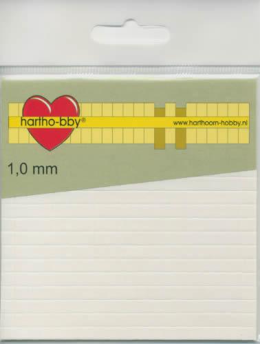 Form-Pads 1,0 mm - 5x5 mm,  Form Pads,  Klebeband,  klebefolie