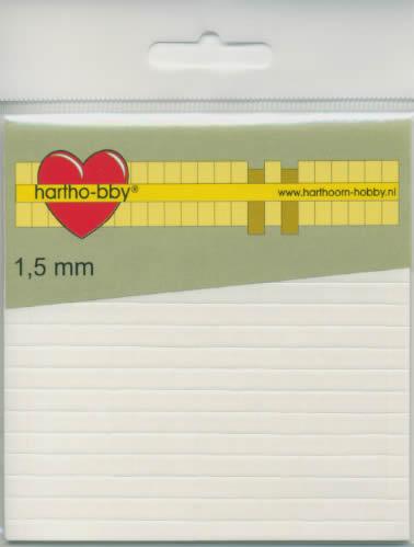 Form-Pads 1,5 mm - 5x5 mm,  Form Pads,  Klebeband,  klebefolie
