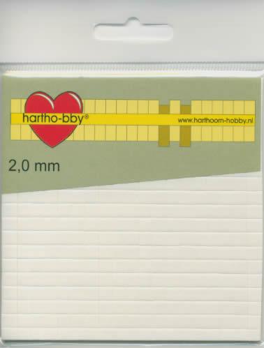 Form-Pads 2,0 mm - 5x5 mm,  Form Pads,  Klebeband,  klebefolie
