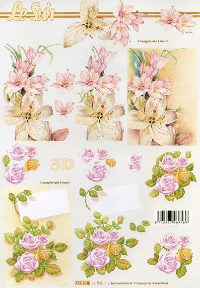 3D Bogen Blumen