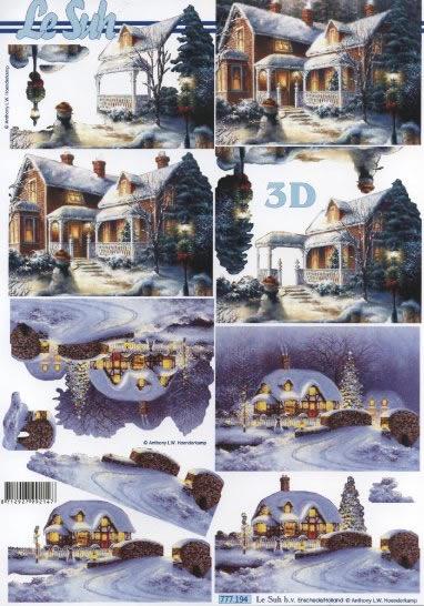 3D Bogen  - Format A4,  Le Suh,  3D Bogen