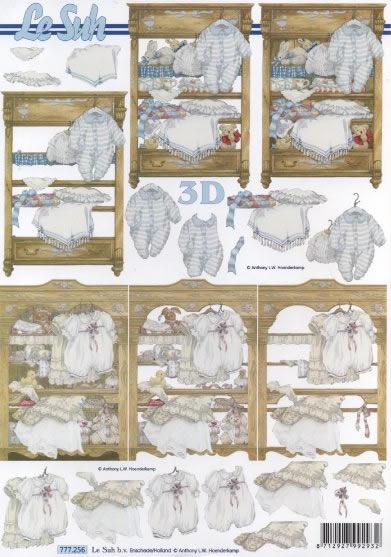 3D Bogen  - Format A4,  Sonstiges -  Sonstiges,  Le Suh,  3D Bogen,  Baby,  Babysachen