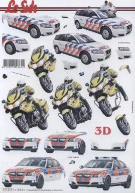 3D Bogen Auto+Motorrad - Format A4, Fahrzeuge - Autos,  Fahrzeuge - Moped / Motorrad,  Le Suh,  3D Bogen,  Auto,  Motorrad