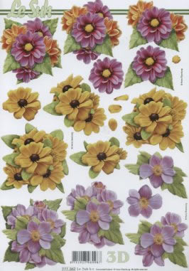 3D Bogen / Sonstige,  Blumen -  Sonstige,  Le Suh,  Sommer,  3D Bogen,  Blumen
