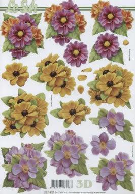 3D Bogen nach Motiven,  Blumen -  Sonstige,  Le Suh,  Sommer,  3D Bogen,  Blumen
