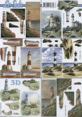 3D Bogen / Leuchtturm,  Regionen - Strand / Meer - Leuchttürme,  Le Suh,  3D Bogen,  Leuchtturm