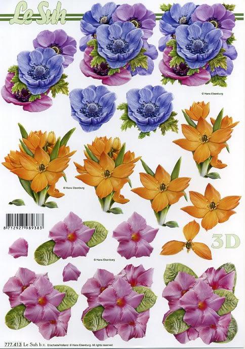 3D Bogen / Sommer,  Blumen -  Sonstige,  Le Suh,  Sommer,  3D Bogen,  Blumen