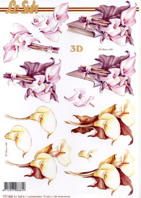 3D Bogen / Blumen,  Blumen -  Sonstige,  3D Bogen