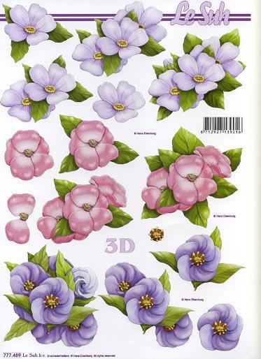 3D Bogen,  Blumen -  Sonstige,  Le Suh,  Sommer,  3D Bogen,  Blumen