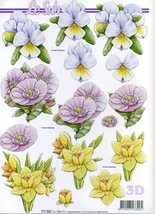 3D Bogen / alle anderen,  Le Suh,  3D Bogen,  Blumen