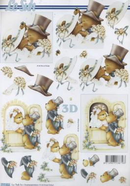 3D Bogen / Firmen,  Ereignisse - Hochzeit,  Le Suh,  3D Bogen