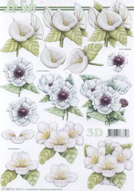 3D Bogen,  Blumen -  Sonstige,  Le Suh,  3D Bogen,  Callas