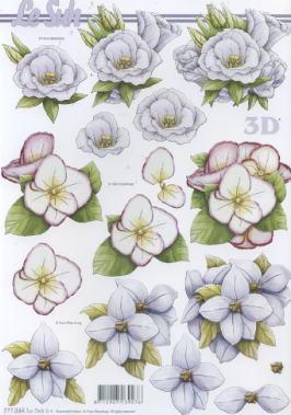 3D Bogen / Firmen,  Blumen - Rosen,  Le Suh,  3D Bogen,  Rosen