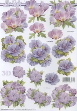 3D Bogen,  Blumen -  Sonstige,  Le Suh,  3D Bogen,  Blumen