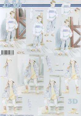 3D Bogen / alle anderen,  Menschen - Kinder,  Le Suh,  3D Bogen,  Jungen