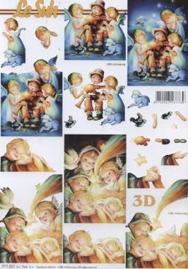 3D Bogen / Art,  Menschen - Personen,  Le Suh,  3D Bogen,  Personen