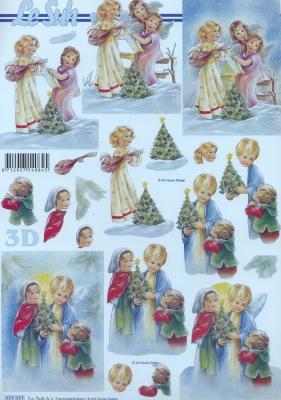 3D Bogen / Art,  Menschen - Kinder,  Le Suh,  Weihnachten,  3D Bogen,  Kinder