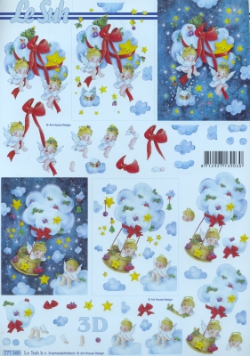 3D Bogen / alle anderen,  Le Suh,  Weihnachten,  3D Bogen,  Engel