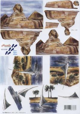 3D Bogen / Nouvelle 8215-.....,  Regionen - Afrika,  Le Suh,  3D Bogen,  Ägypten