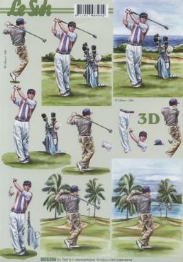 3D Bogen Golfen - Format A4