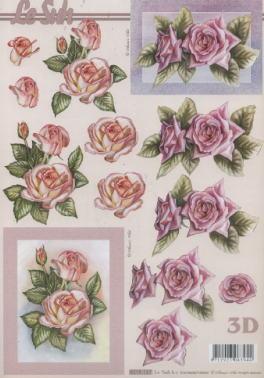 3D Bogen / Art,  Blumen - Rosen,  Le Suh,  3D Bogen,  Rosen