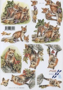 3D Bogen / Tiere,  Tiere -  Sonstige,  Le Suh,  3D Bogen,  Fuchs
