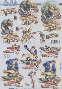 3D Bogen,  Menschen - Personen,  Le Suh,  3D Bogen,  Handwerk,  Personen