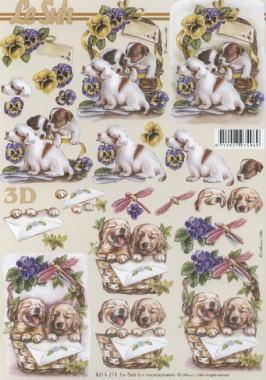 3D Bogen / Firmen,  Tiere - Hunde,  Le Suh,  3D Bogen,  Hunde