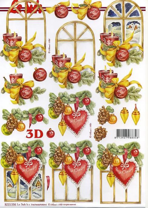 3D Bogen,  Weihnachten - Baumschmuck,  3D Bogen
