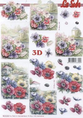3D Bogen / Firmen,  Blumen -  Sonstige,  Le Suh,  3D Bogen,  Teehaus