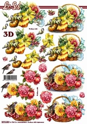 Nouvelle,  Früchte - Kürbisse,  Le Suh,  Herbst,  3D Bogen,  Kürbisse