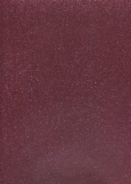 Stickerfolie Glitter transparent, rose