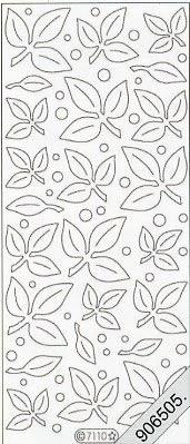 Stickers / Samt,  sonstige,  Blätter