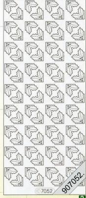 Stickers / Ecken, grün,  Muster - Ecken,  hologramm,  Ecken,  Ilex