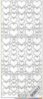 Starform, gold,  Art - Stickers Glitter transparent,  Art - Glitter Sticker,  Art - Glitter Sticker,  Herzen