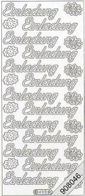 Stickers / Everyday, violett,  Art - Stickers Glitter transparent,  Art - Glitter Sticker,  Art - Glitter Sticker,  Jahreszeit - Everyday