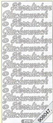 Stickers Glitzer-Stickers - gold, gold,  Art - Stickers Glitter transparent,  Art - Glitter Sticker,  Art - Glitter Sticker,  Jahreszeit - Everyday,  Schriften,  Glückwunsch,  gold