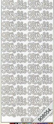 Stickers Glitzer-Stickers - türkis, türkis,  Art - Stickers Glitter transparent,  Art - Glitter Sticker,  Art - Glitter Sticker,  Jahreszeit - Everyday,  Schriften