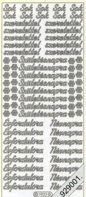 Stickers Text Stickers -  português - gold